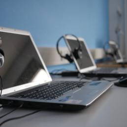Lok Medienraum Laptops