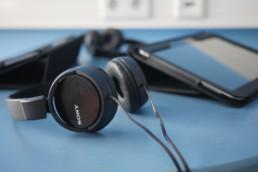 Lok Medienraum Kopfhörer